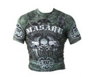 Рашгард короткий рукав MASARU Short Sleeve Rash Guard Skull Принт